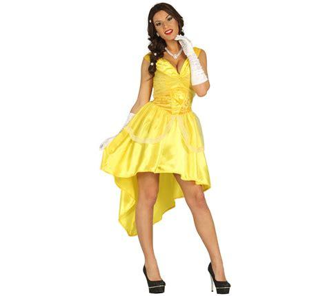Disfraz de Princesa de Baile Amarillo para Mujer