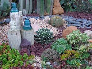 Garden and bliss ocean theme landscaping gallery of photos for Succulent garden designs