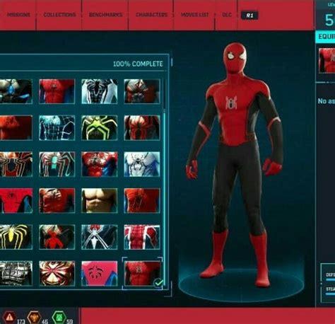 spiderman ps   home suit marvel spiderman spiderman