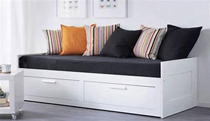 Ikea Bed Storage Single Beds Brimnes Sofa