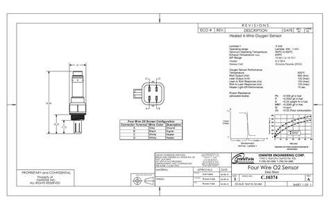 4 Wire O2 Sensor Wiring Diagram by Bosch 4 Wire O2 Sensor Wiring Diagram Indexnewspaper
