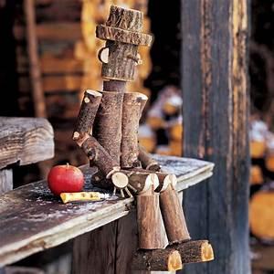 Tuto Bricolage Bois : un pantin en branches de bois marie claire ~ Melissatoandfro.com Idées de Décoration