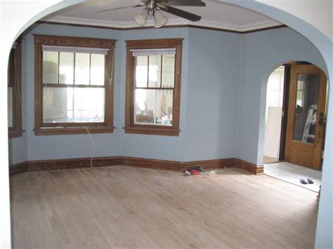 Dining Room Trim Ideas - light blue painted rooms home design inside