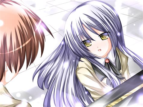 beats angel kanade tachibana yuzuru otonashi anime hd zerochan wallpapers
