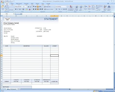 Creating An Invoice Template by Creating Invoices In Excel Invoice Template Ideas