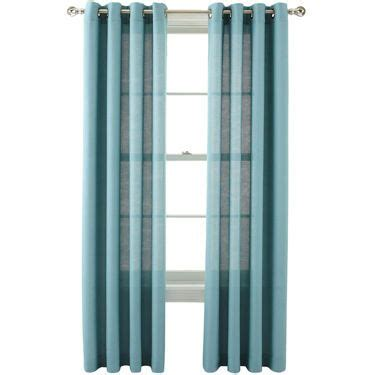 marthawindow provence weave grommet top curtain panel