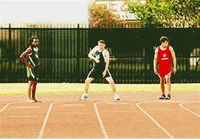 Marathon Line Starting Relay Running Run Race