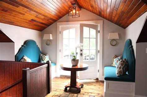 Barrel Ceiling   Cottage   entrance/foyer   El Mueble