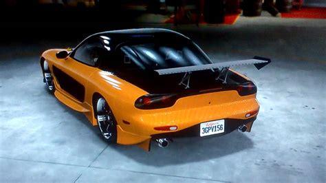 Midnight Club La- Han's Mazda Rx7 Fast And Furious