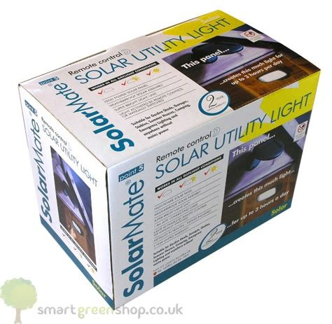 solarmate point 5 solar powered shed utility lighting