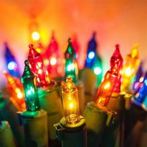 200 Multi Color Garland Lights Christmas Lights 100 Viviluxe Tm Multi Color Christmas