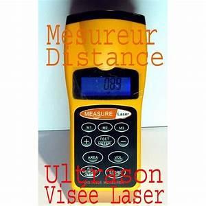 Mesureur De Distance Laser Portable : telemetre mesure distance ultrason vis e laser ~ Edinachiropracticcenter.com Idées de Décoration