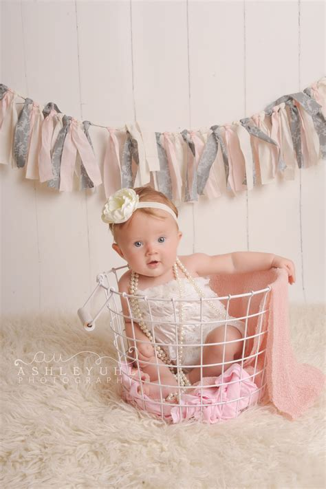 month  baby girl  work pinterest babies