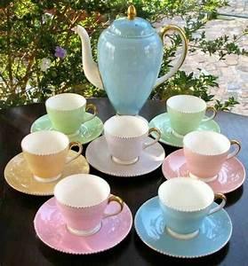 Geschirr Set Pastell : pastel tea set pastel prettiness pinterest geschirr und deko ~ Whattoseeinmadrid.com Haus und Dekorationen