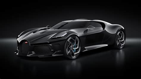 Bugatti La Voiture Noire 2019 Geneva Motor Show 5k