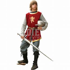 Childs Knightly Tunic and Shirt - 100788 from Medieval ...