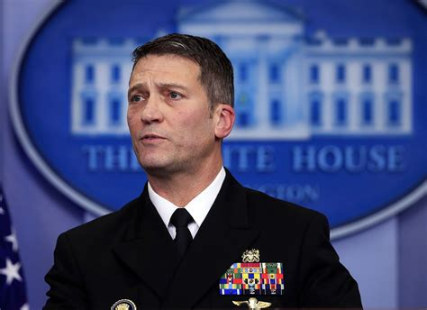 Ronny Jackson takes name out of nomination for VA head