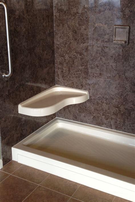 modern corner shower bench seat  modern marble corner