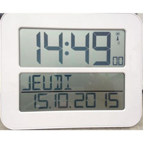 horloge murale led radio pilotee horloge 224 date radio pilot 233 e time max