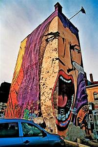 Beautiful Dreamer Art: Pop Art Graffiti Building
