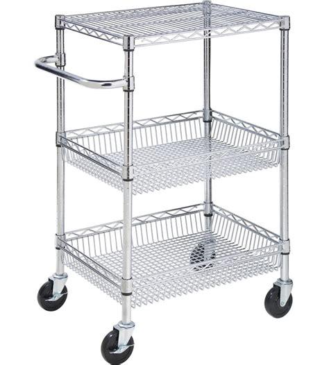 rolling kitchen island cart rolling storage cart in kitchen island carts 4866