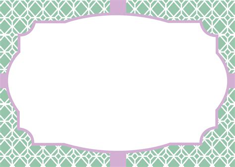 Blank Label Template 10 Best Images Of Label Templates Printable