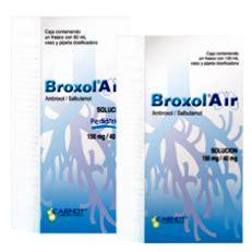 broxol air ambroxol salbutamol bronquitis aguda carnot