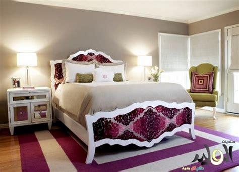 الوان غرف نوم موف جديدة 2016 دهانات و ورق جدران  الوليد