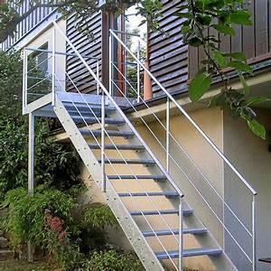 gerst metallbau gmbh treppen und gelander With französischer balkon mit treppe für garten