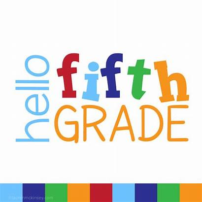5th Grade Fifth Welcome Clipart Class Clip