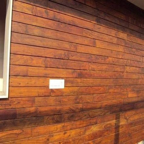 exterior wooden wall cladding at rs 250 square