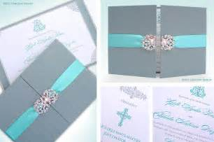 boxed wedding invitations blue wedding invitation luxury wedding