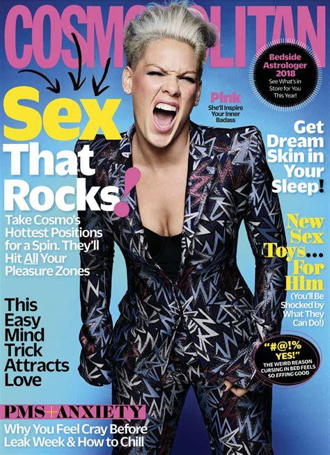 pink cosmopolitan pink in cosmopolitan magazine january 2018 hawtcelebs