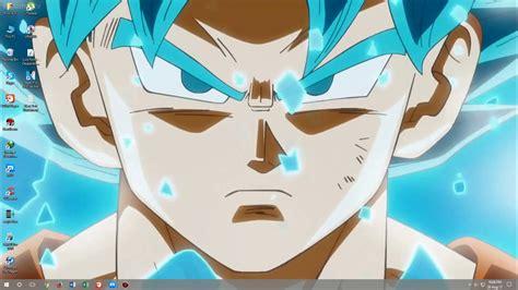 goku super saiyan blue wallpaperwallpaper theme engine