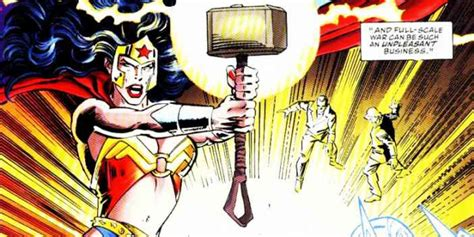 5 superheroes who lifted thor 39 s mjolnir hammer of