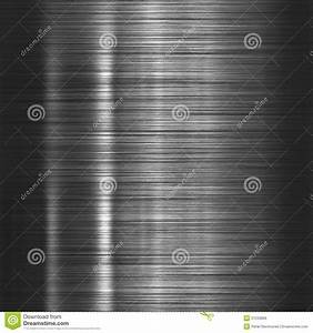 Brushed Steel Metallic Plate Royalty Free Stock Images ...