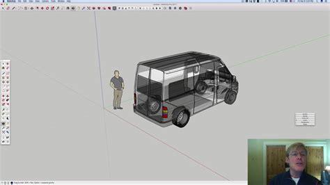 antonios ford transit sketchup youtube