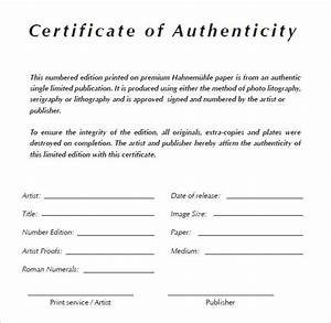 microsoft word template certificate of authenticity images With free printable certificate of authenticity templates