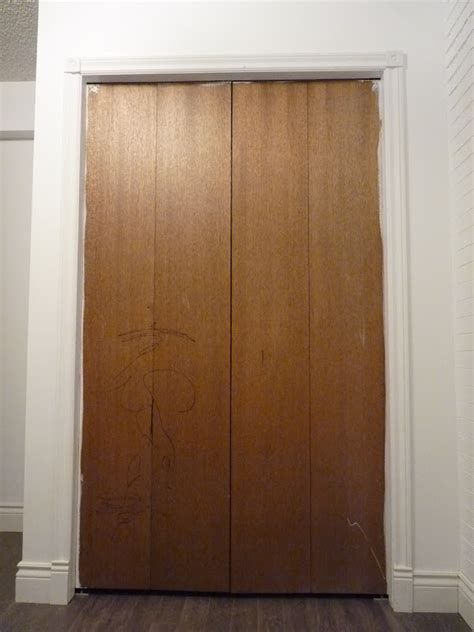 bi fold closet doors top diy tutorials bi fold closet door makeover