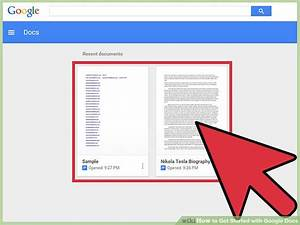 How To Get Started With Google Docs  13 Steps  With Pictures