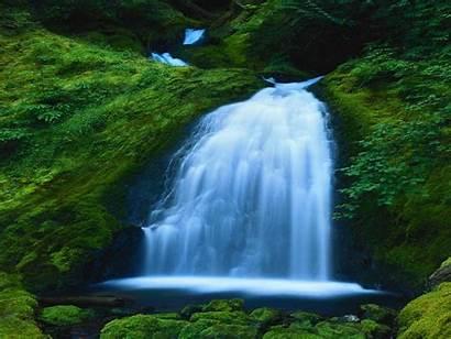 Water Waterfall Nature Wild River Wallpapers Desktop