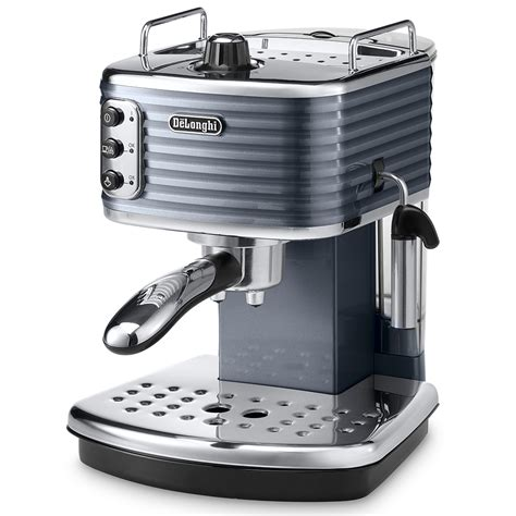 espresso maschine delonghi delonghi scultura collection espresso cappuccino machine ecz351 bk black around the clock offers