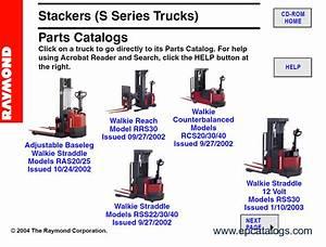 Raymond Forklift Parts Catalog Pdf
