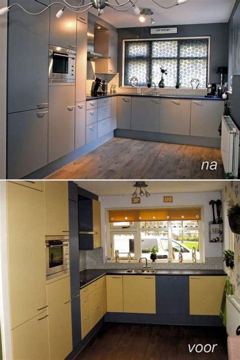 Eiken Keukenkastjes Verven by Keuken Spuiten Regio S Keukenspuiterij Eurobord