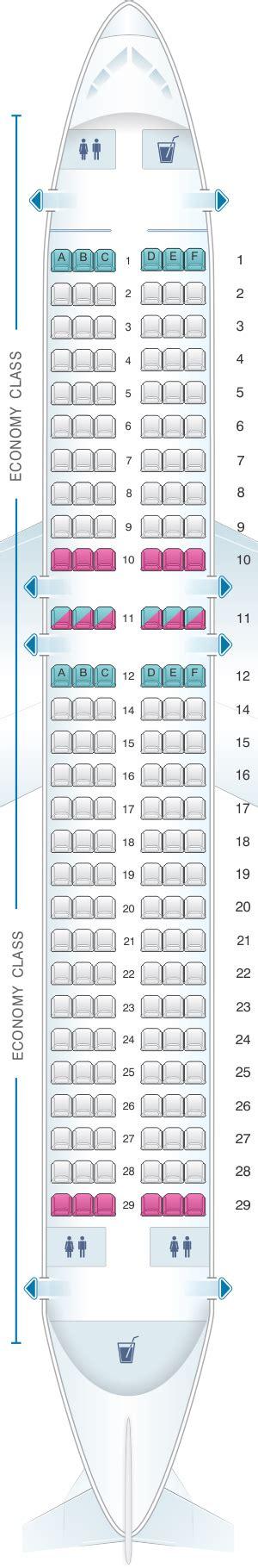 plan des sieges airbus a320 plan de cabine scandinavian airlines sas airbus a320