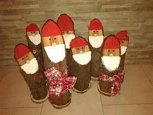 Lavoretti Di Natale Con Tronchi Di Legno Molto Cosedibea