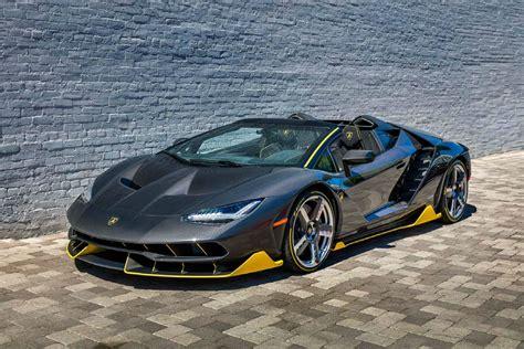 World's First $23 Million Lamborghini Centenario Roadster