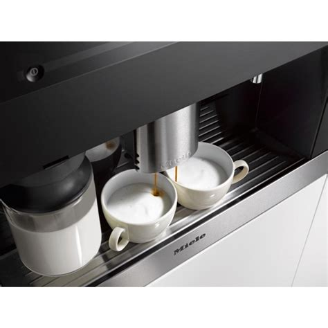 It's very unlikely that i'd use the compartment for ground coffee on the miele cm 6350, just like with all other espresso machines. Miele CVA6401 Built-in coffee machine