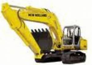 New Holland Excavator E215b