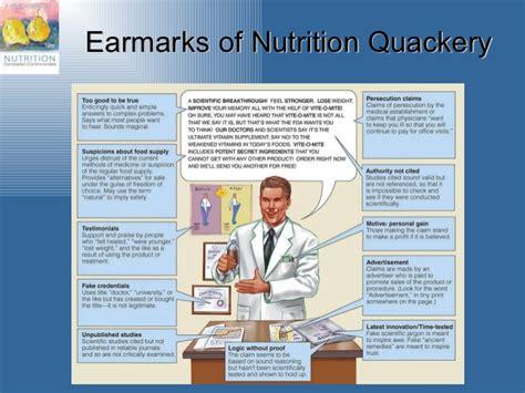 nutrition quackery examples besto blog